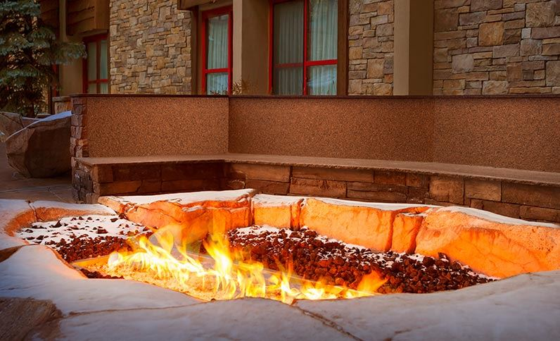Snake River Lodge & Spa - Adjusted Firepit