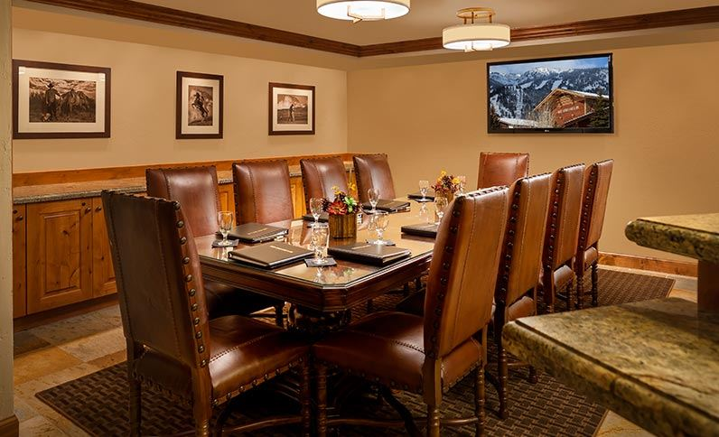 Board Room in Snake River Lodge & Spa, Teton Village