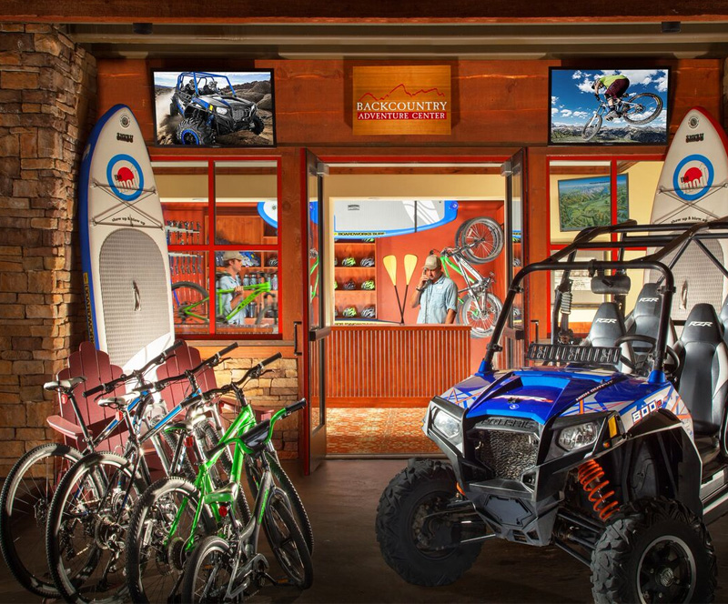 Backcountry Adventure Center in Snake River Lodge & Spa, Wyoming