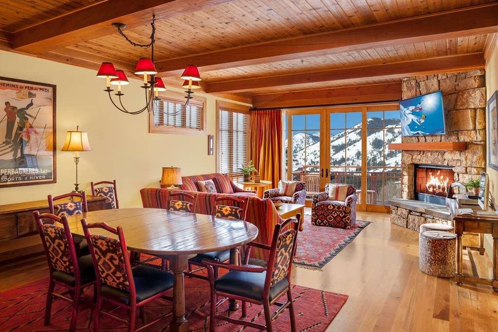 Crystal Springs Lodge Residential Units at Snake River Lodge & Spa, Teton Village