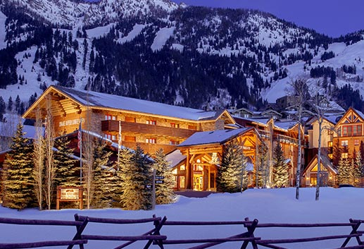 Snake River Lodge & Spa, Teton Village - 4 Night Ski & Stay Package