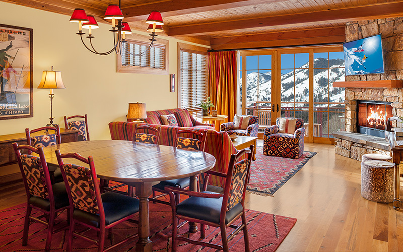 Crystal Springs Three Bedroom Residence at Snake River Lodge & Spa, Wyoming