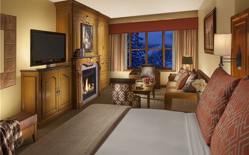 Premium King Suite in Snake River Lodge & Spa, Teton Village