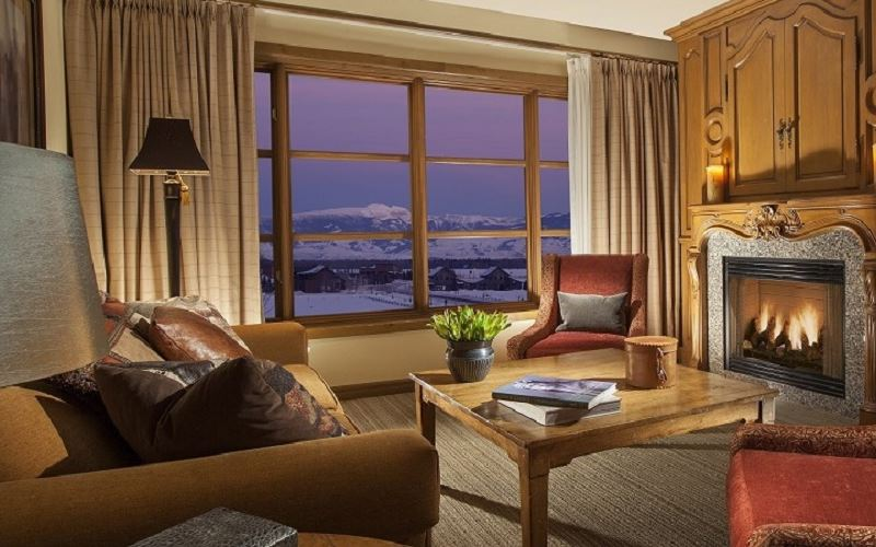 Three Bedroom Residence Suite at Snake River Lodge & Spa, Wyoming